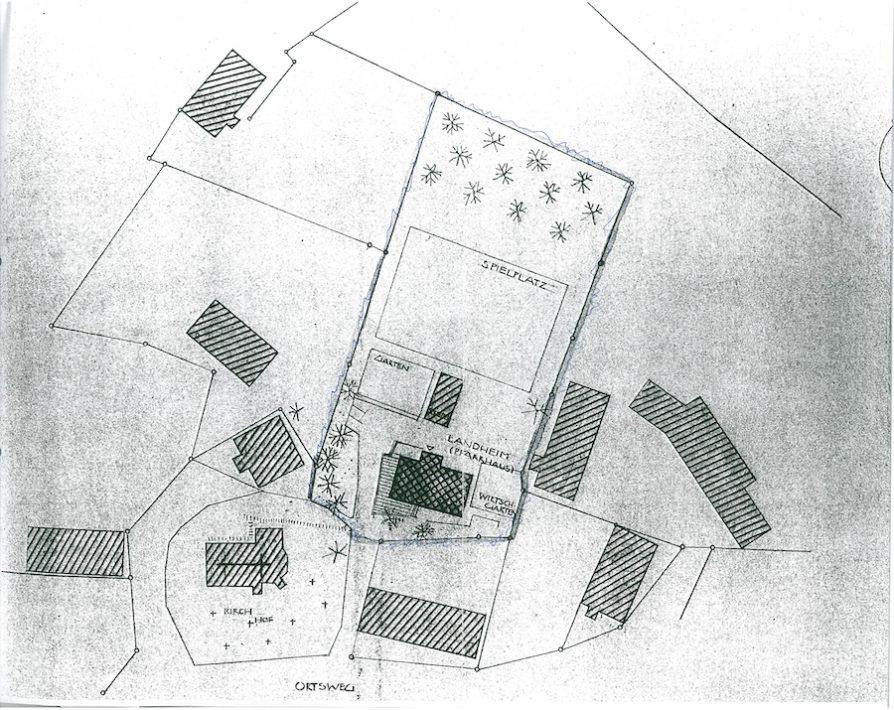 Archivmaterial-1958 Grundriss