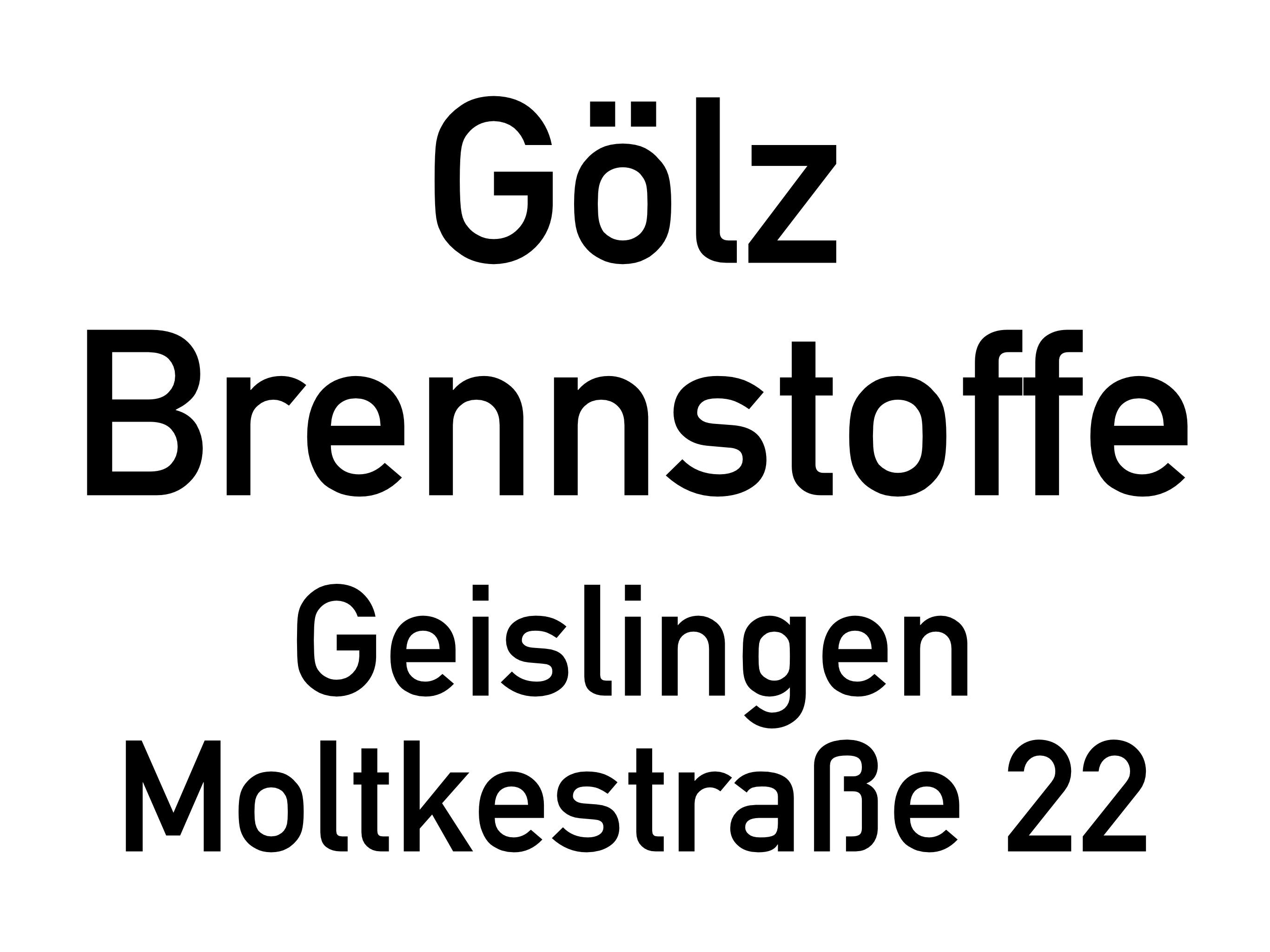 Gölz Brennstoffe // Geislingen