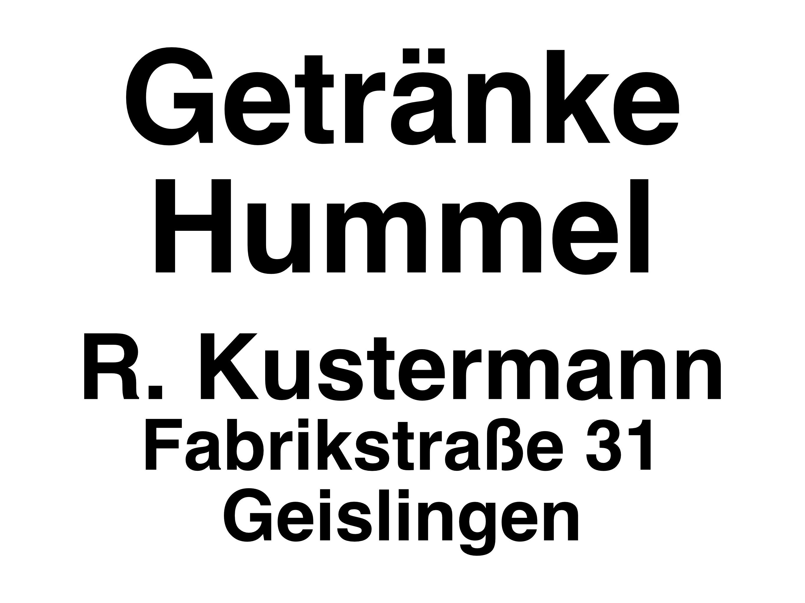 Getränke Hummel // Geislingen Fabrikstraße 31